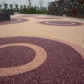 直供上海透水地坪-透水混凝土-彩色透水砼-透水路面施工价格