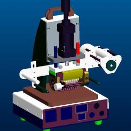 塑料品自动流水号烙印机
