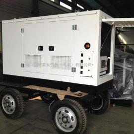 移动拖车发电机