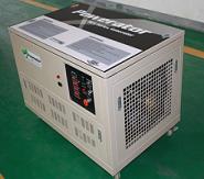 北京多燃料发电机组13kw 三相 汽油,天然气,液化气