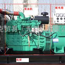 康明斯柴油发电机组 生厂商 20kw 开架式/静音型、