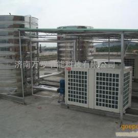 万罗太阳能辅助空气能热水工程