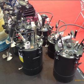台湾宝丽压力桶10L、20L、40L、60L气动油漆压力桶