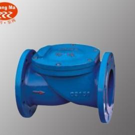 HC44X/SFCV橡胶瓣止回阀,铸铁橡胶瓣止回阀