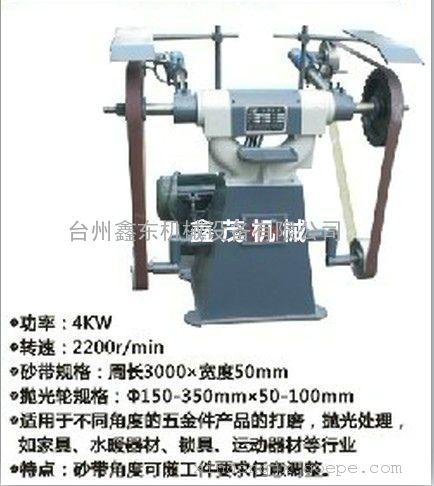 江苏砂带抛光机,扬州立式砂带机,苏州砂带抛光机厂家直销图片