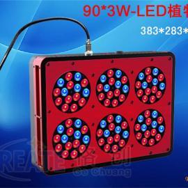 6头大功率LED植物生长灯