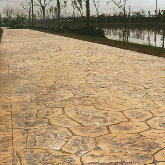 湖北荆门压印混凝土/艺术压印地坪/压印地坪