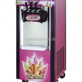广绅立式冰淇淋机 BJ218C 三色冰激凌机