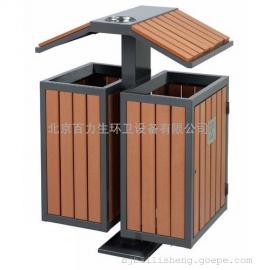 木条垃圾桶 公园垃圾桶 分类垃圾桶 户外垃圾桶