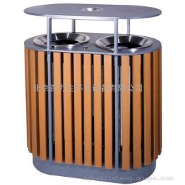 木条垃圾桶 钢木垃圾桶 分类垃圾桶 小区垃圾桶