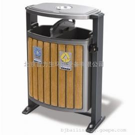 钢木垃圾桶 木条垃圾桶 分类垃圾桶 小区垃圾桶