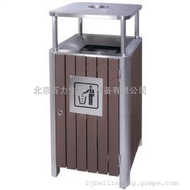 公园垃圾桶 木条垃圾桶 小区垃圾桶