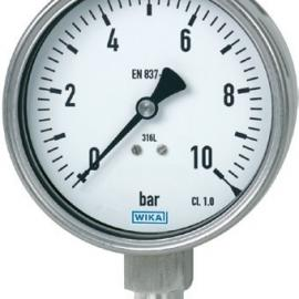 wika不锈钢压力表 232.50 wika耐震充液压力表