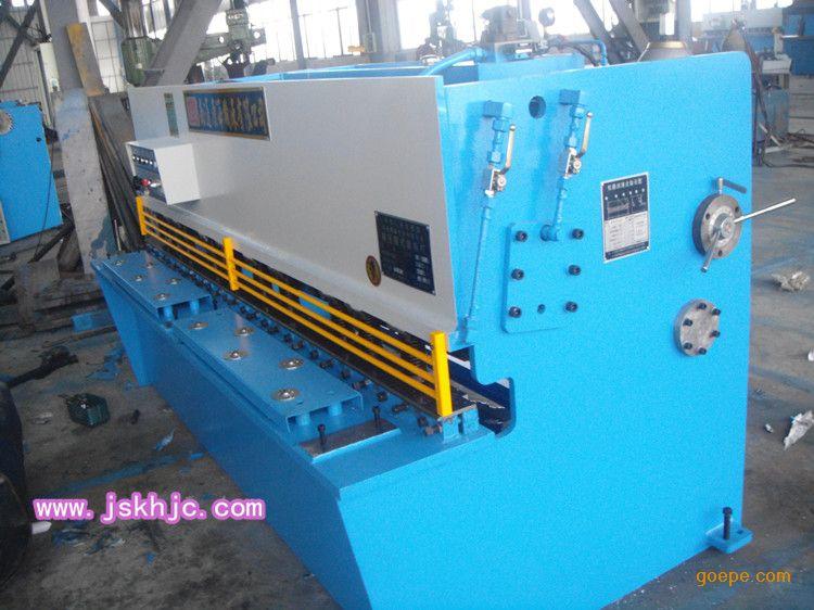 现货供应qc12y-6x2500液压摆式剪板机|南通康海机床