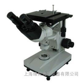 上海光学双目倒置金相显微镜4XB