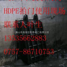 DT-HDPE拍门阀