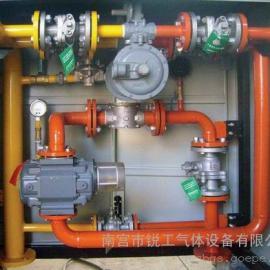 燃气楼栋和区域调压箱