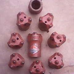 正宗 双金龙钻头 42一字金龙钻头 柱齿钻头