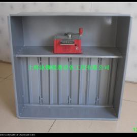 多叶送风口,碳钢防火阀,带消防联动装置