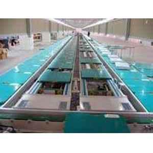 液晶显示屏组装流水线