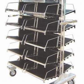 PCB周转车 防静电PCB挂篮车 防静电PCB板挂篮车(管状式)