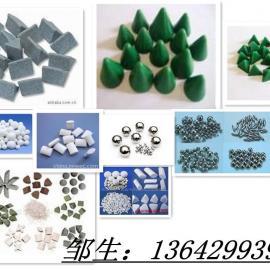 研磨石(塑胶石,棕刚玉,高频瓷,钢珠)