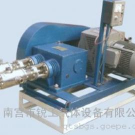 往复式低温液体充装泵