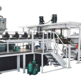 PP PE PS ABS PET PVC 板片材生产线设备