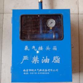 室内箱式氧气终端箱