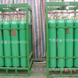 乙炔气瓶固定框架
