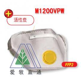 活性炭无纺布口罩M1200VPW