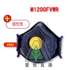 活性炭无纺布防护口罩M1200FVWR