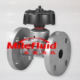 G41FJ法兰隔膜阀,G41F不锈钢隔膜阀