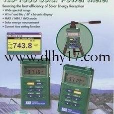 CH-TES1333型太阳能功率表