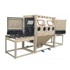 DR-2010-4人工输送式肆位手动喷砂机、葫芦岛吹砂机
