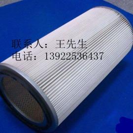 高效覆膜除尘滤筒 高效覆膜除尘滤芯