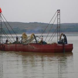 抽沙船小型抽沙机械大型抽沙设备采砂设备钻探式抽沙船