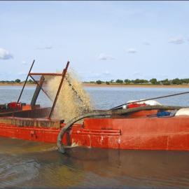 抽沙设备小型抽沙船大型抽沙船自抽自卸式抽沙船抽沙吸铁设备