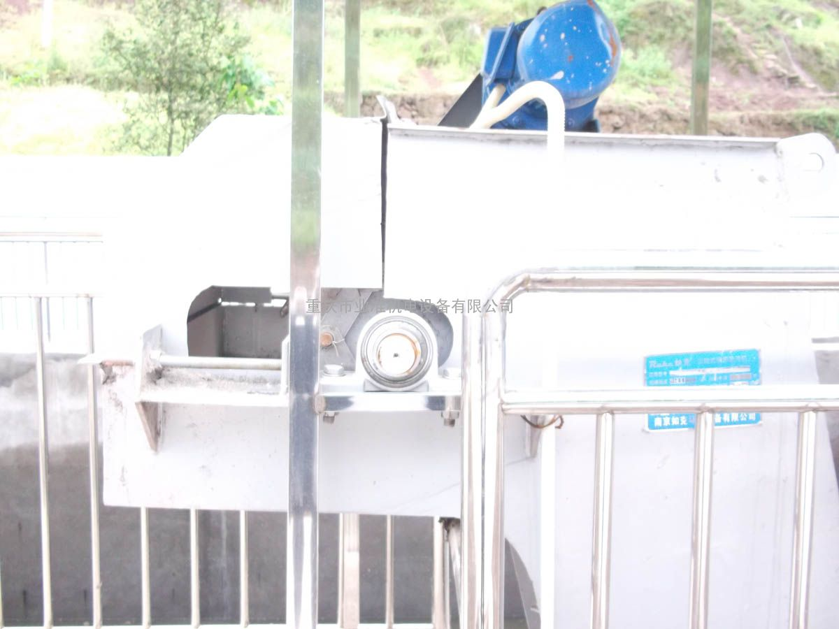 供应重庆回转式机械格栅除污机污水处理设备