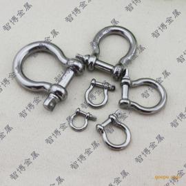 扭体卸扣 眼式旋转弹簧卸扣 求生链扣 弧形钢扣 快拧销卸扣