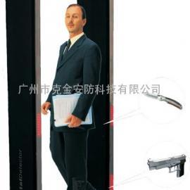铁金刚6区位金属探测安检门GG-LED/广州安检门
