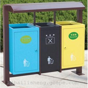 户外分类垃圾桶  物业小区垃圾桶