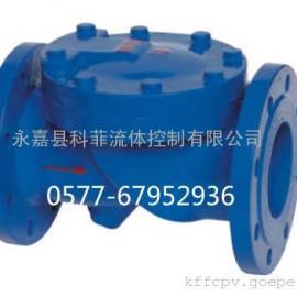 HC44X(SFCV)铸铁橡胶瓣止回阀
