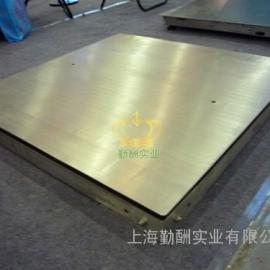 不锈钢地磅秤0.8*1.2双层电子地磅