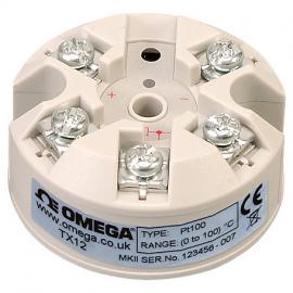 TX12热电阻RTD变送器 TX13热电偶变送器omega