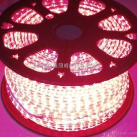红光led高压灯条 一卷100米 5050-60灯