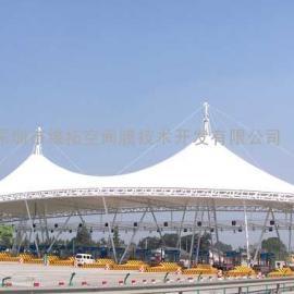 淮安市公交站台、火车站台索膜结构工程