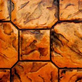 拜石彩色压模地坪-压模混凝土-上海压模地坪
