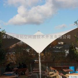 扬州网球场、篮球场膜结构设计安装