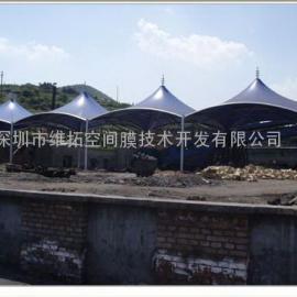 扬州加油站、收费站索膜结构制作安装